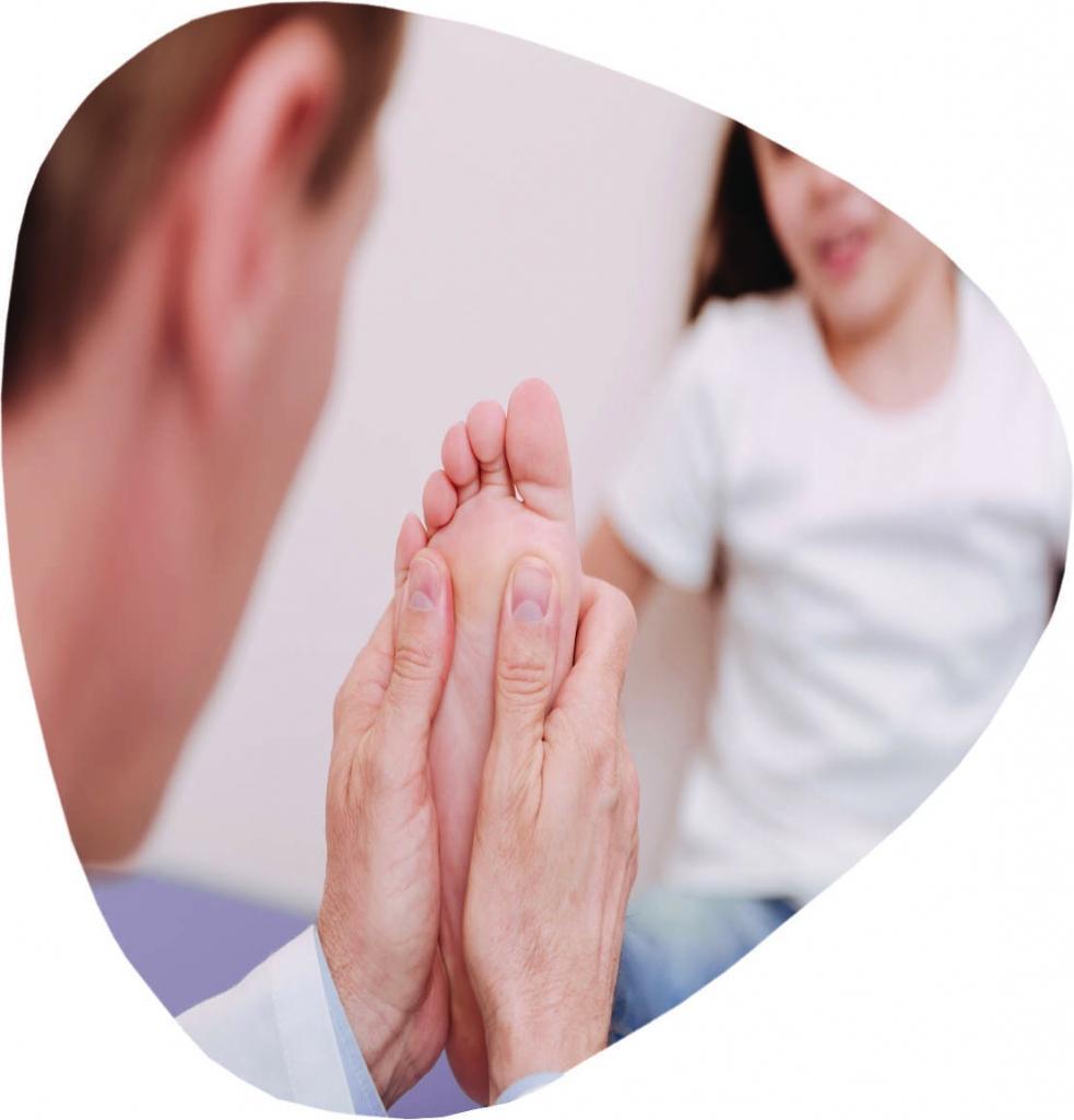 Paediatric Feet services